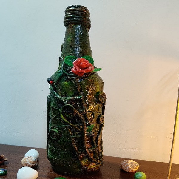 Handcrafted Glass Bottles