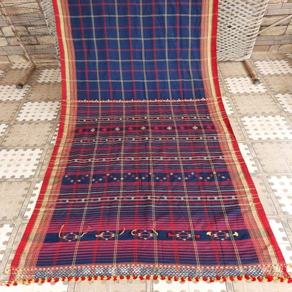 Handwoven Bhujodi Saree
