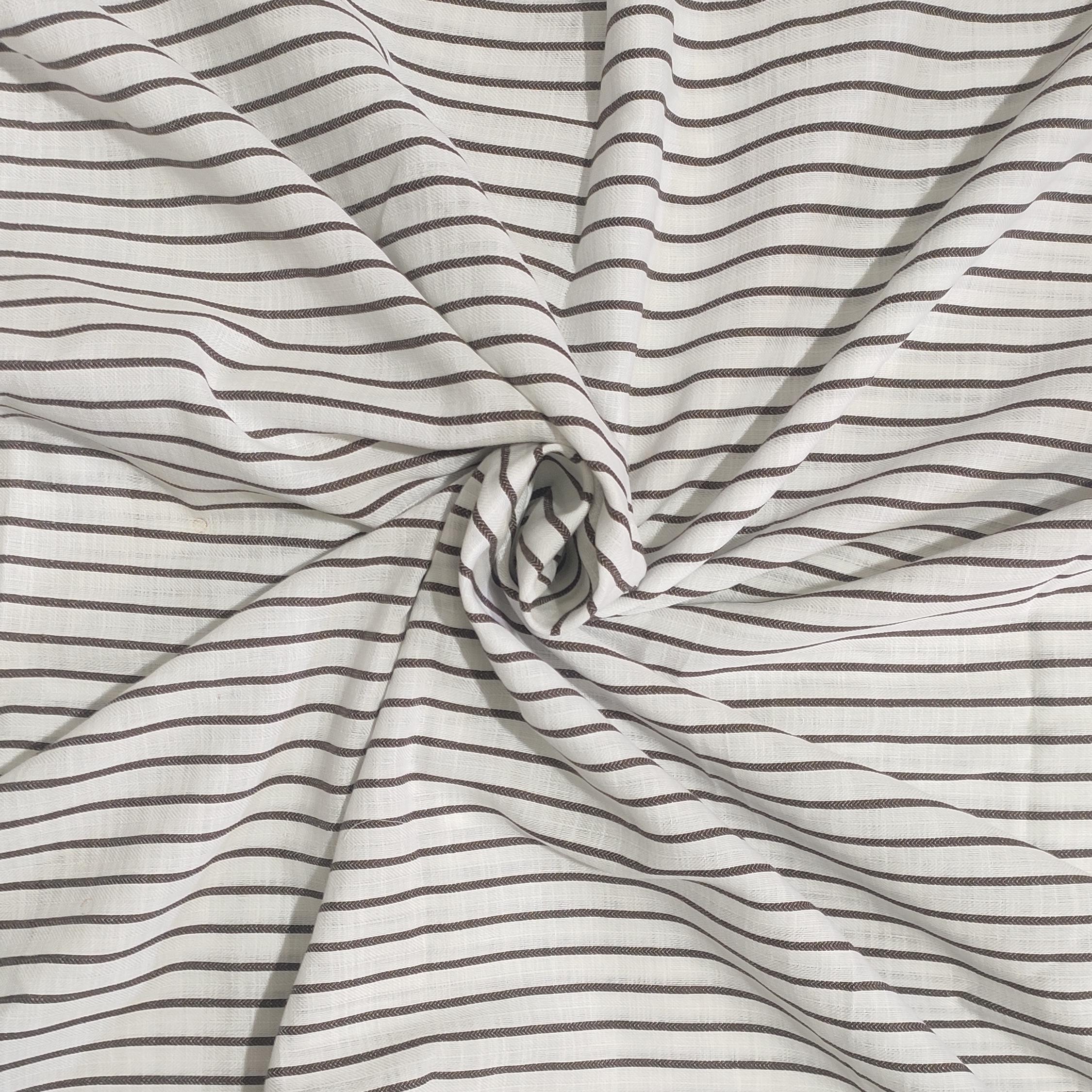 Handwoven wave twill arrow design  cotton fabric