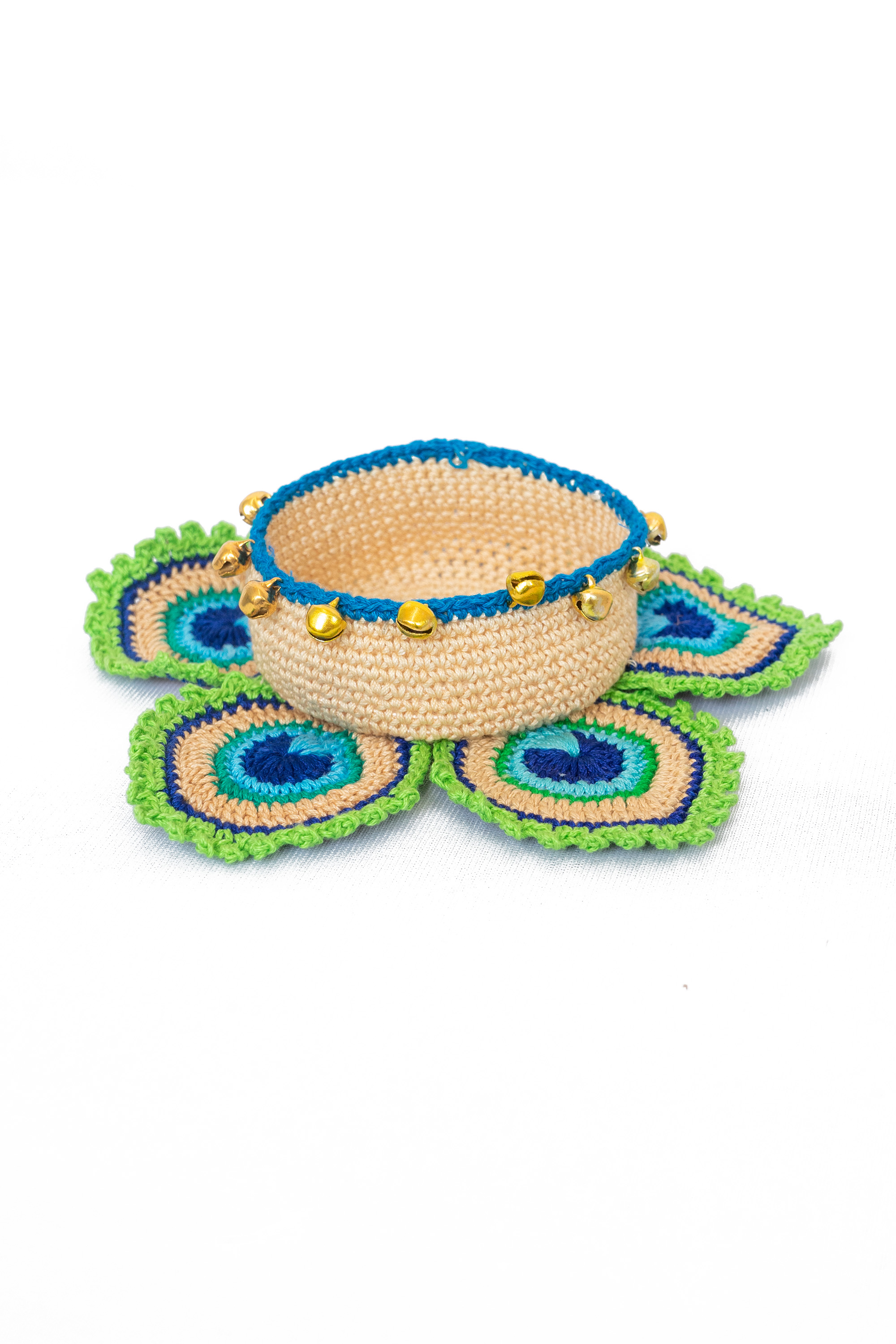 Happy Threads Crochet Tealight Holders for Home -2