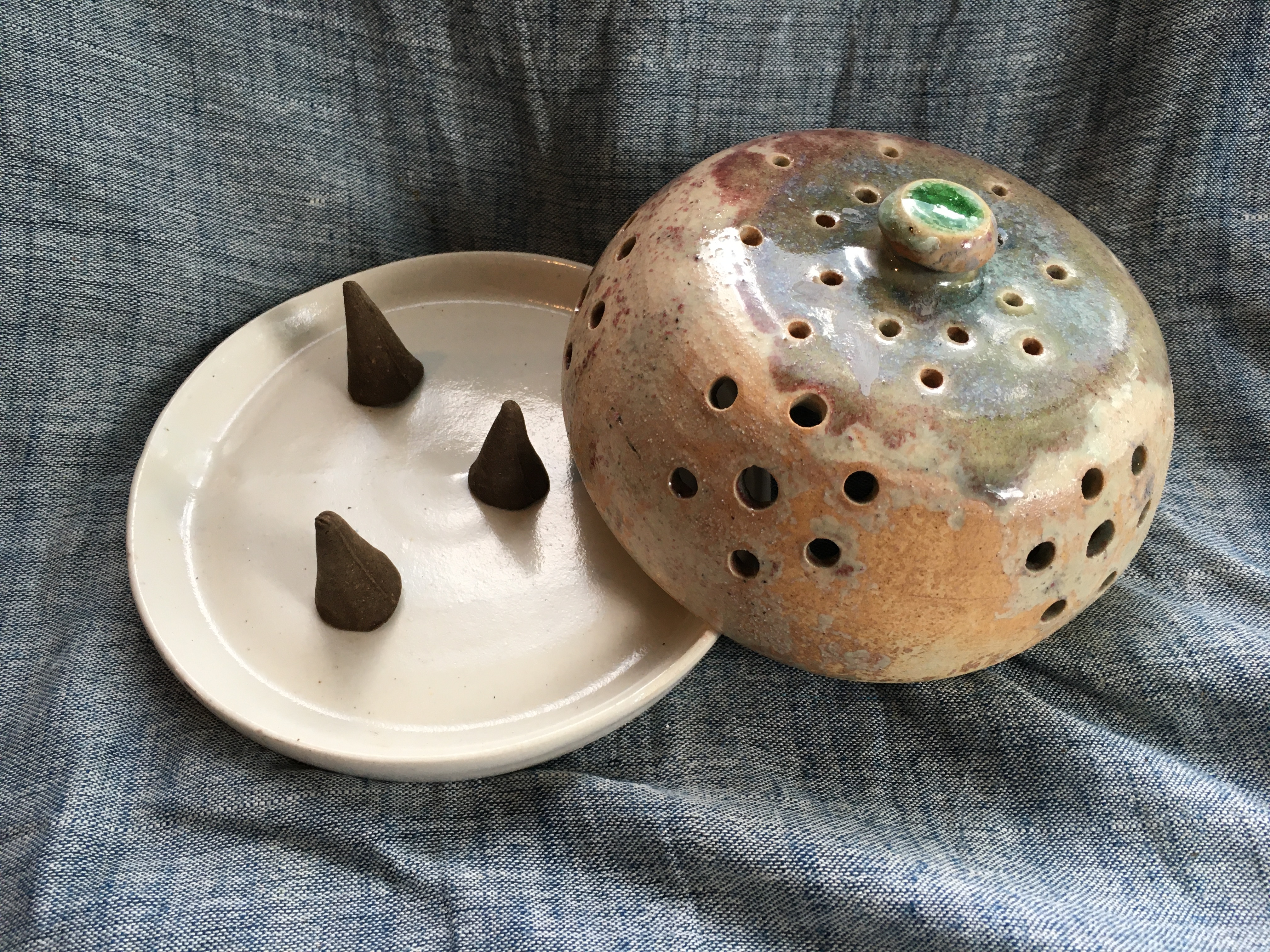 Home Purifying Incense Cone Diffuser