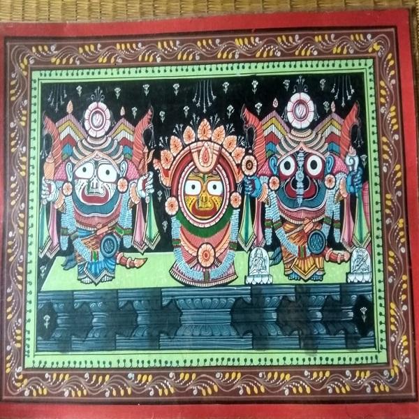 Jagannath Nagarjuna Pattachitra Painting