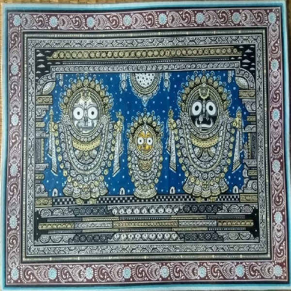 Jagannath Sunavesa Pattachitra Painting