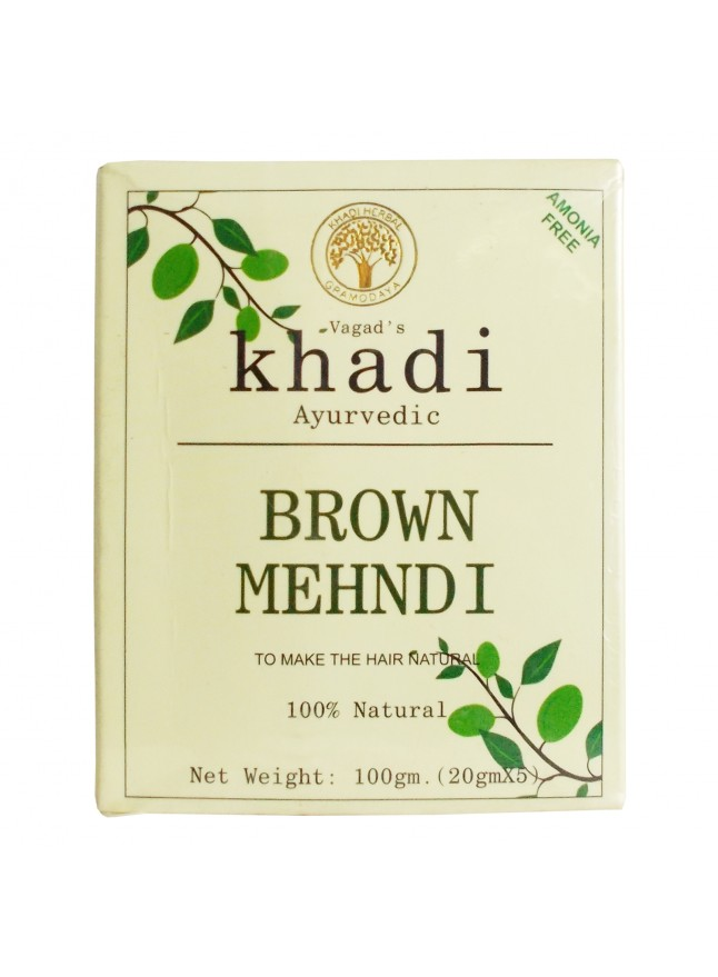KHADI Brown Mehndi