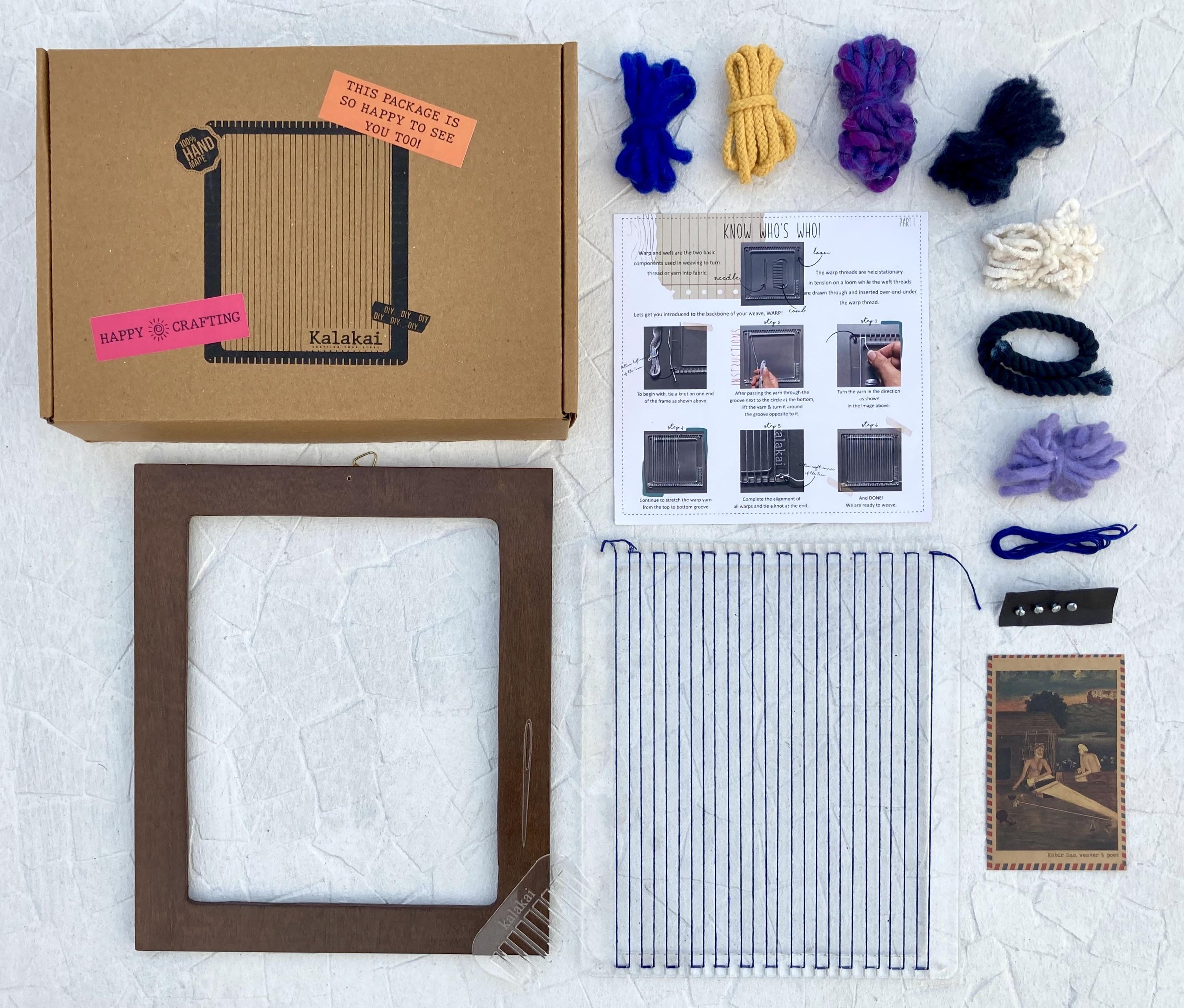 Ambar weaving DIY kit | Rectangle