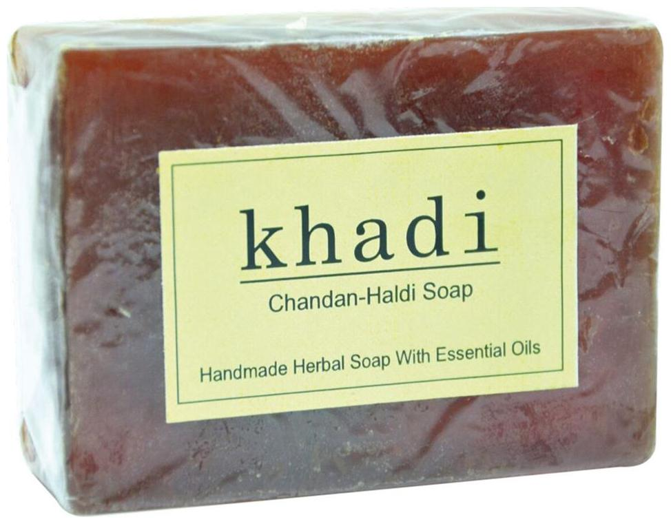 Handmade Fabric Chandan-haldi Soap