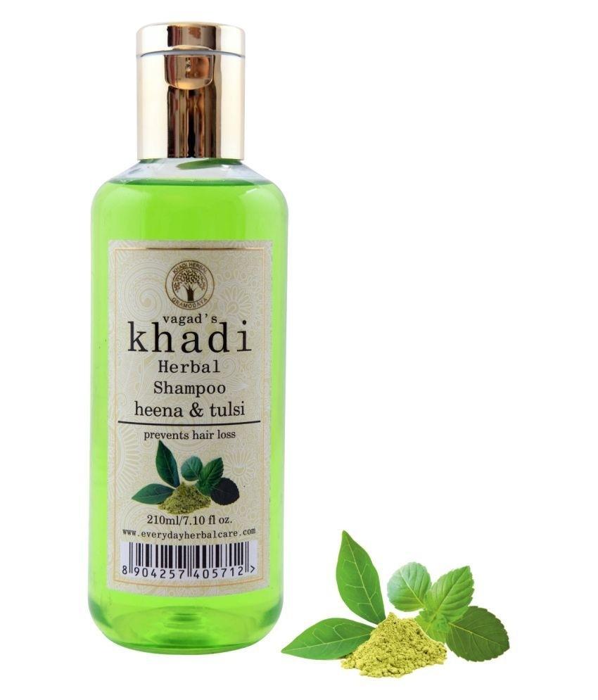 Khadi Heena & Tulsi Shampoo