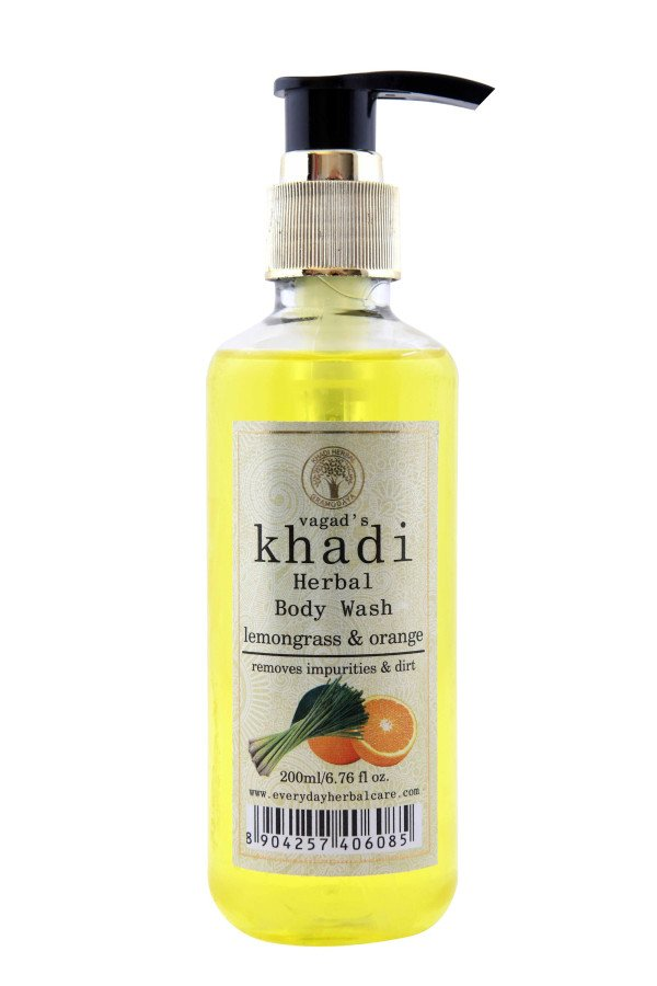 Khadi Lemongrass & Orange Body Wash