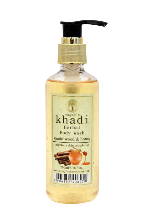 Khadi Sandalwood & Honey Body Wash