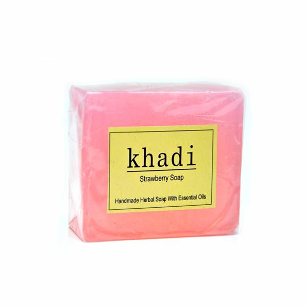 Khadi Strawberry Soap