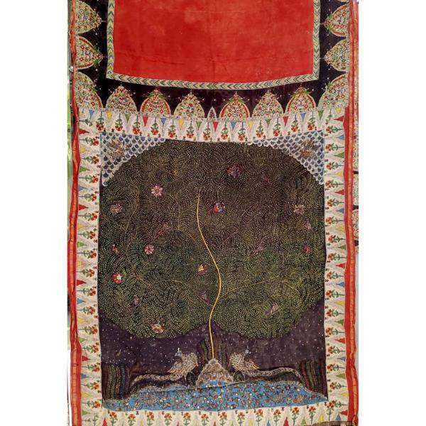 Maheshwari Silk Saree with Blouse piece