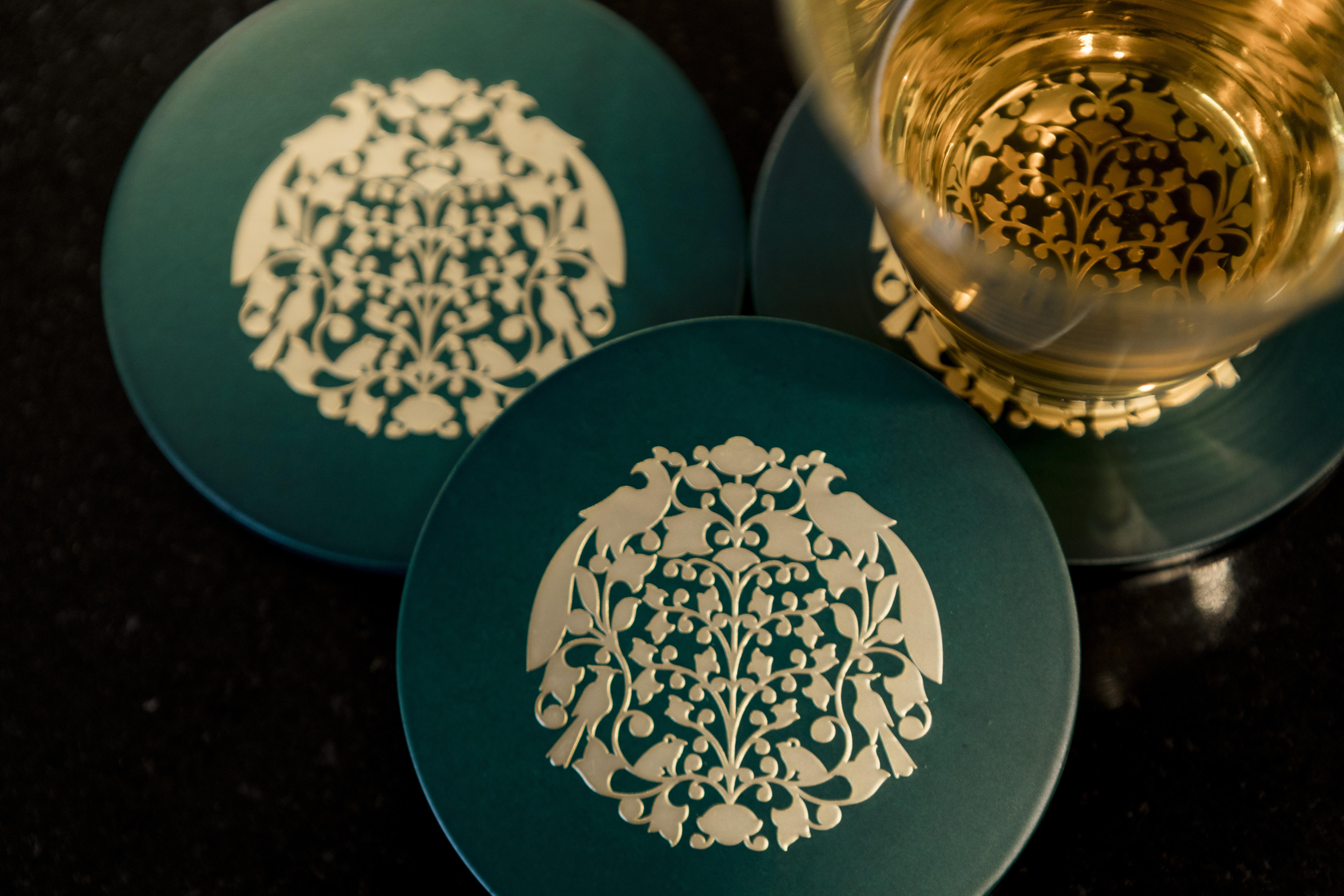 Malhar Coasters - Green