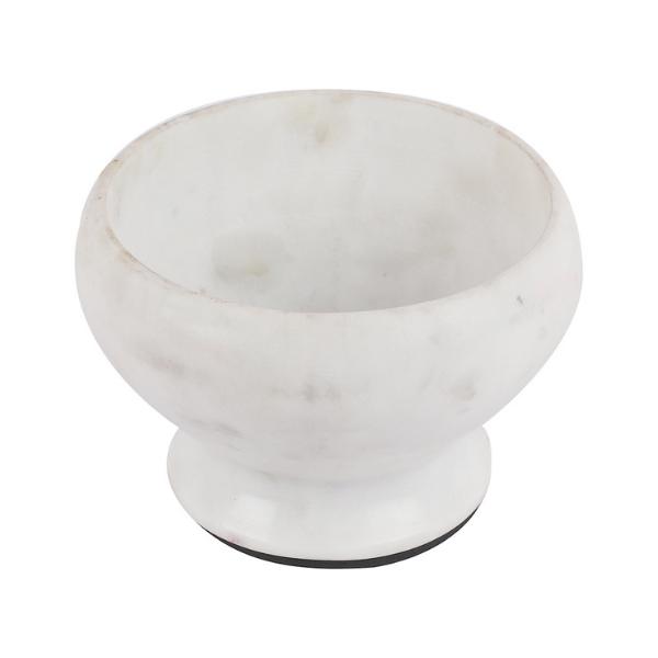 Marble Pedestal fruit bowl in banswara marble