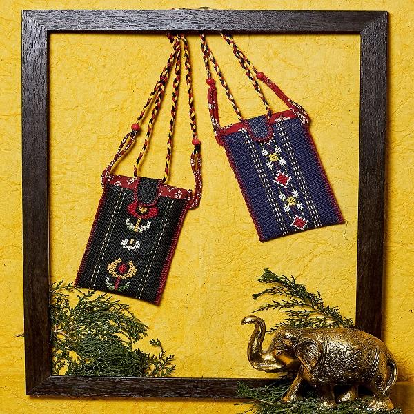 Mobile cover Sling Bag (Blue)