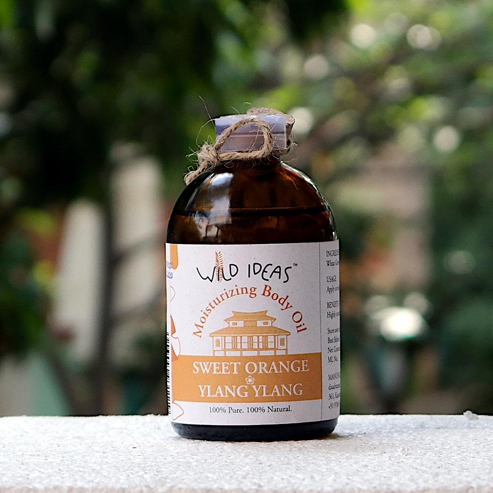 Sweet Orange-Ylang Ylang Moisturising Body Oil