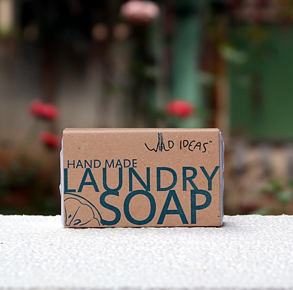Natural Hand-Made Laundry Bar Soap