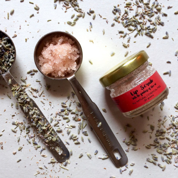 Natural Lavender Lip Scrub