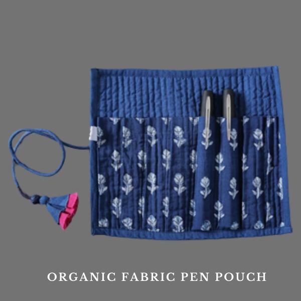 Organic Fabric Pen Pouch