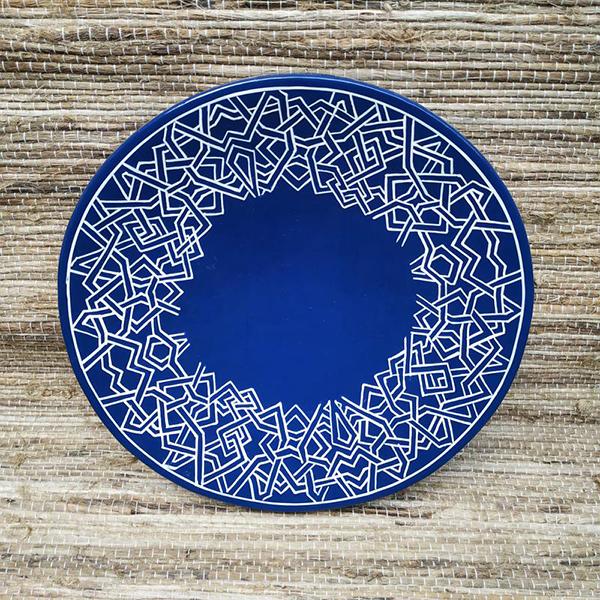 Papier Mache Platter