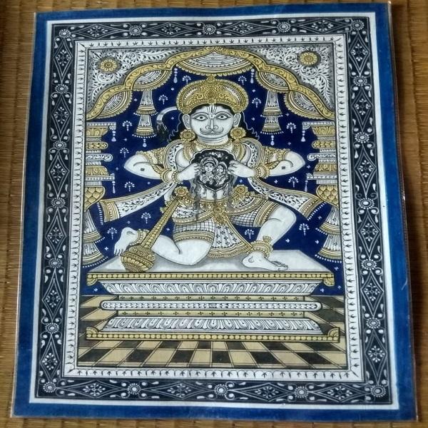 Pattachitra painting Hanuman