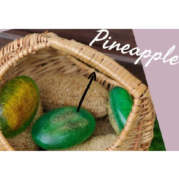 Pineapple Exfoliating Bar
