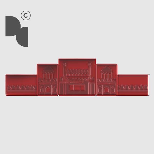 Red Fort Fridge magnet