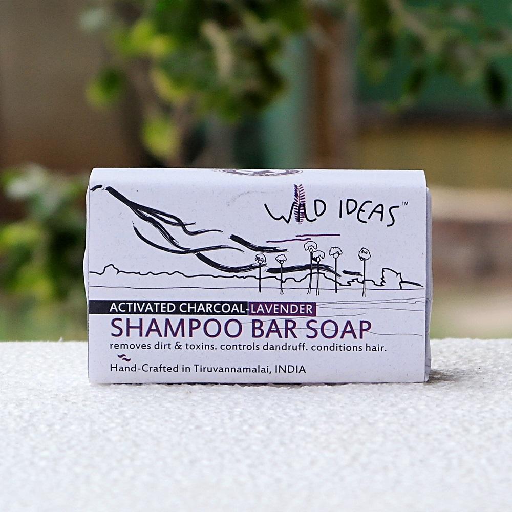 Shampoo Bar--Activated Charcoal-Lavendar