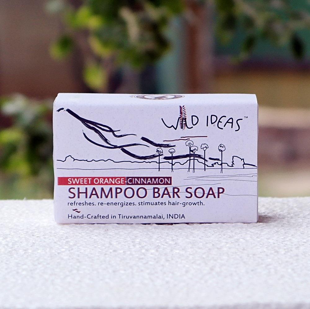 Shampoo Bar--Sweet Orange-Cinnamon