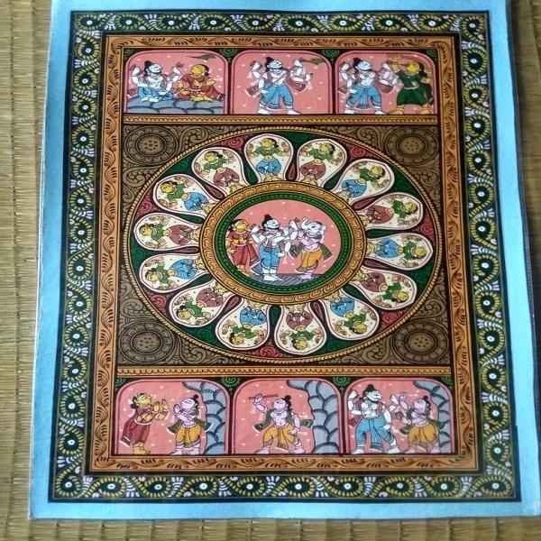 Shiva Story Pattachitra Painting