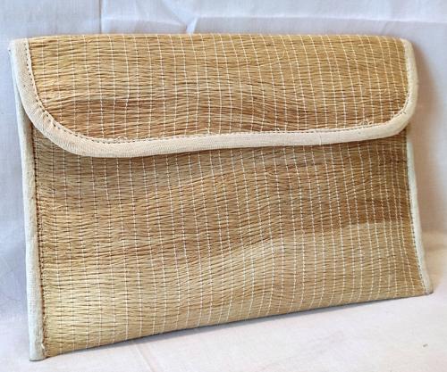Sisal fiber pouch