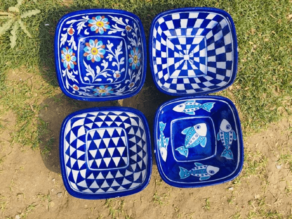 Square bowls - Set of 2