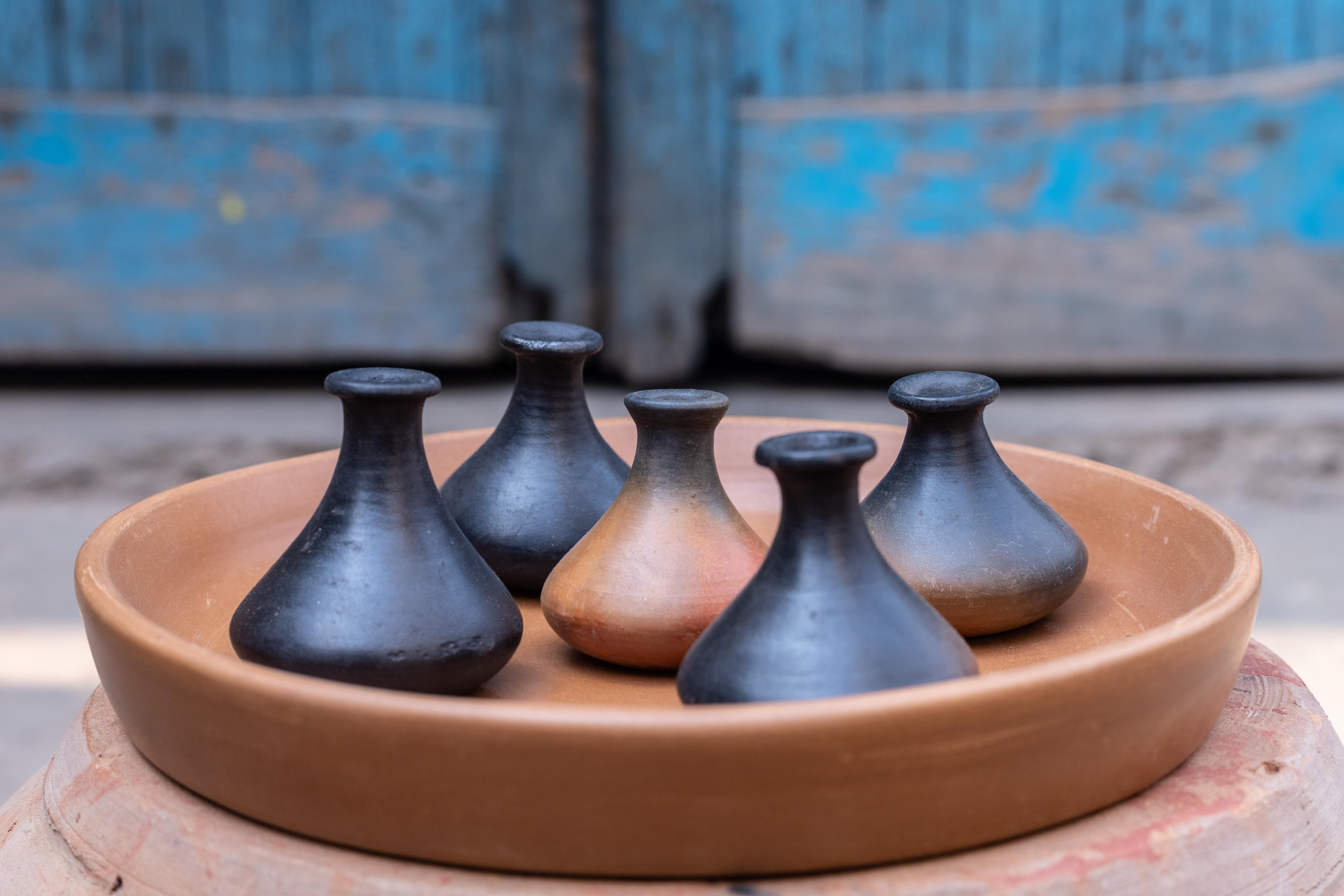 Terracotta Miniature Decor Set