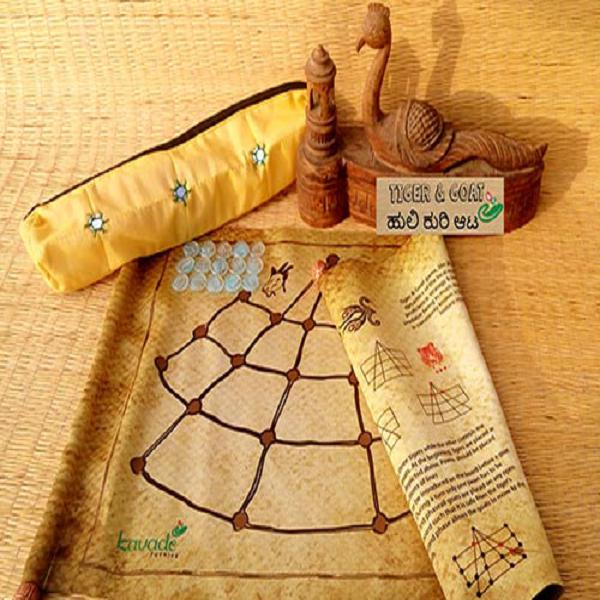 Tiger-Goat Game Set-Scroll