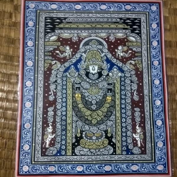Tirupati Balaji Pattachitra Painting