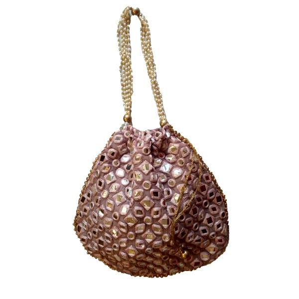 Traditional Georgette Potli