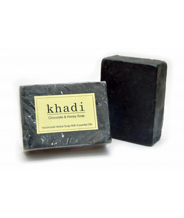 Vagad's Khadi Chocolate And Honey Soap