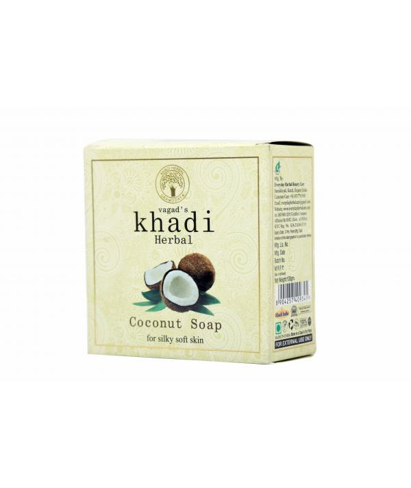 Vagad's Khadi Coconut Milky Soap For Silky Soft Skin