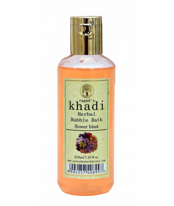 Vagad's Khadi Flower Blast Bubble Bath