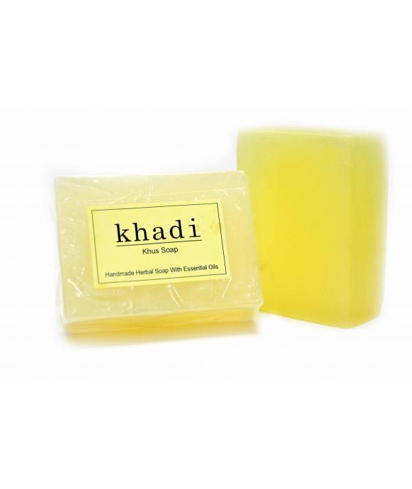 Vagad's Handmade Fabric Khus Soap
