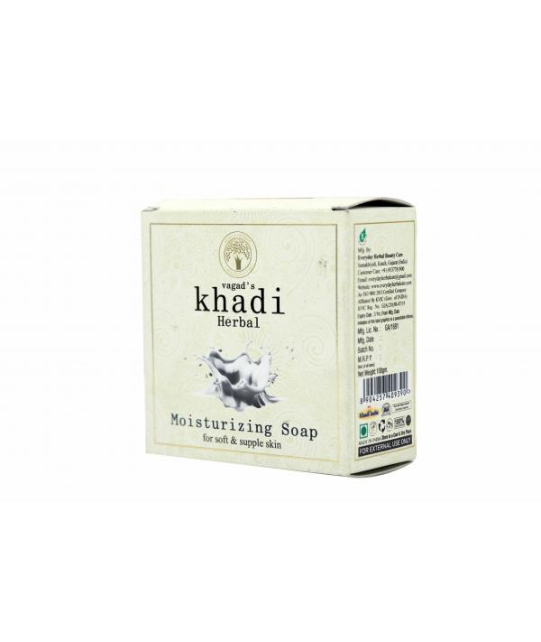 Vagad's Khadi Moisturizing Milky Soap For Soft And Supple Skin