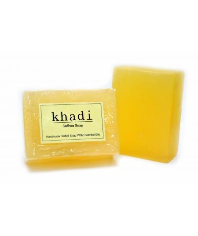Vagad's Handmade Fabric Saffron Soap