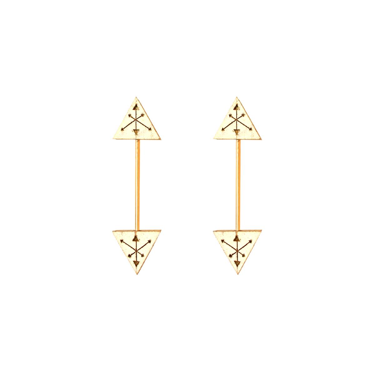 Warrior Earrings