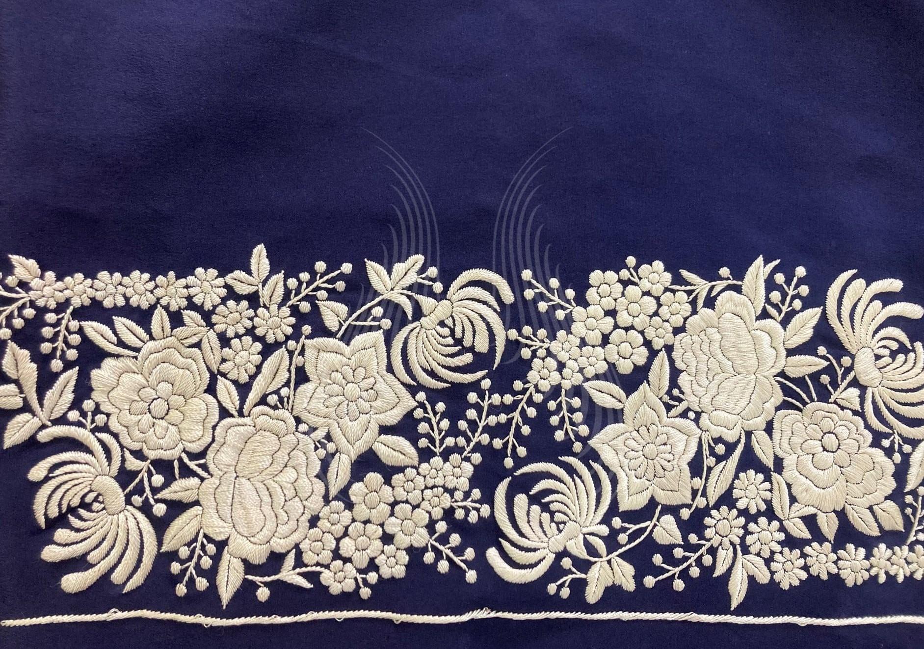 flower motif (G101)