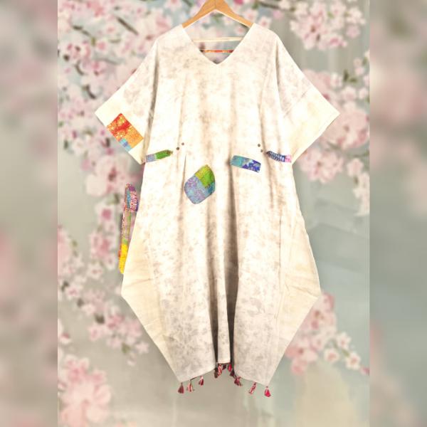 harad reversible organic kimono