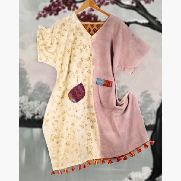 lac and rose kimono