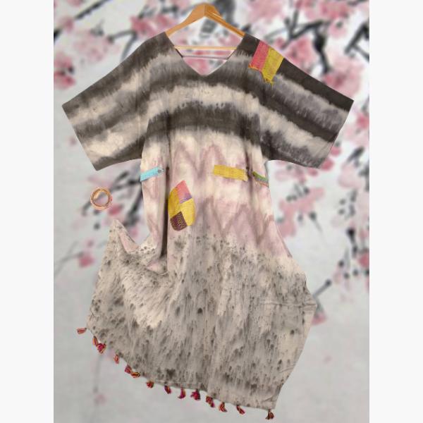 lac organic cotton dress