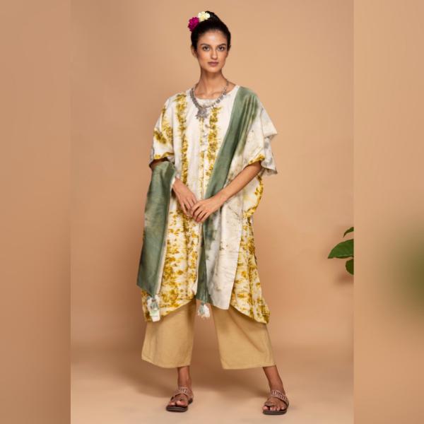 marigold kurta dress