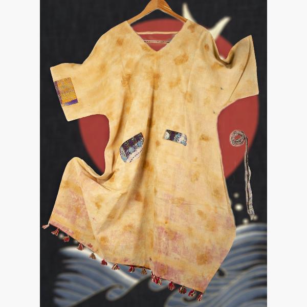 tesu reversible organic kimono