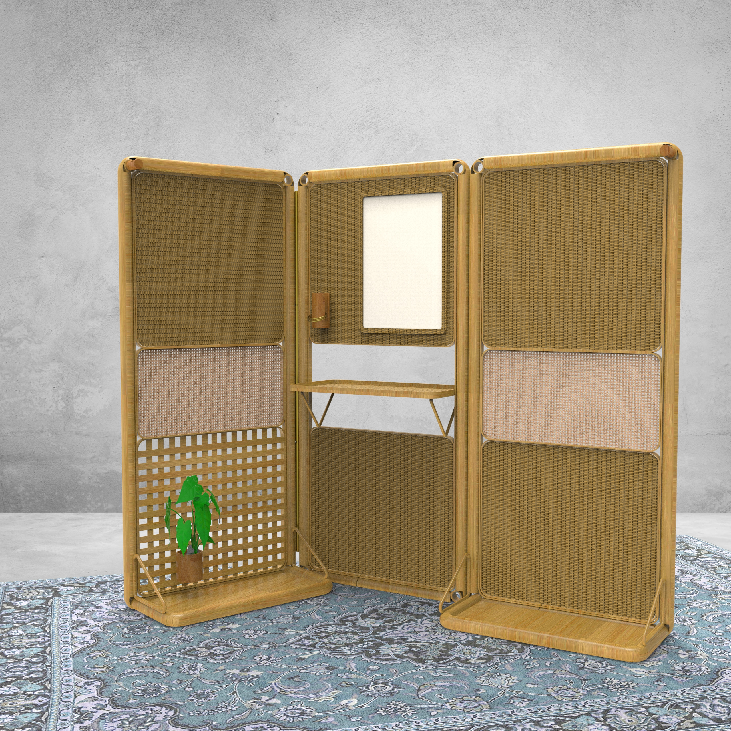 BAMBOO PARTITION SYSTEM