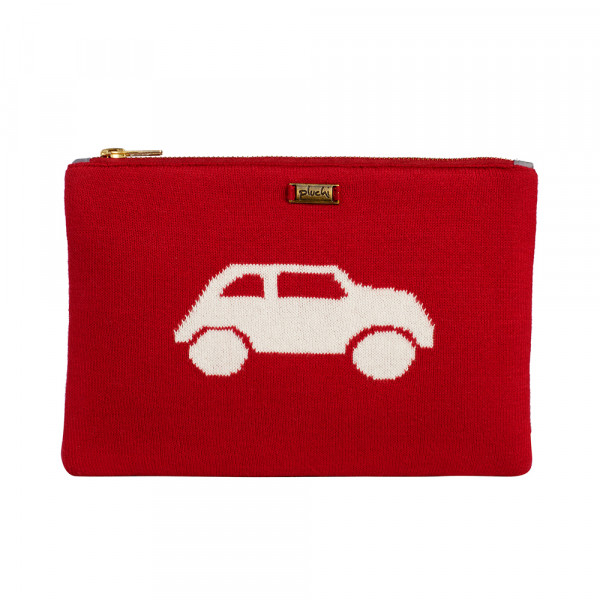 PLUCHI  COTTON STATIONERY COOL CARS POUCH